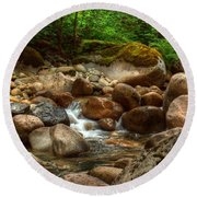 Woodland Waters Round Beach Towel