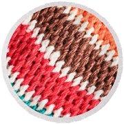 Wool Knitwear Round Beach Towel by Tom Gowanlock