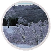 World Of Jack Frost Round Beach Towel