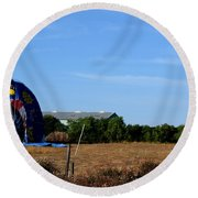 World Peace Xii Round Beach Towel