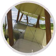 World War One Classic 1916 Sopwith Pup Biplane Round Beach Towel