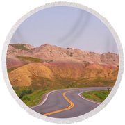 Would You Really Want To Go Faster Round Beach Towel