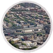 Wrigley Field - Home Of The Chicago Cubs Round Beach Towel