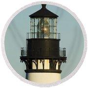 Yaquina Head Lighthouse 4 A Round Beach Towel