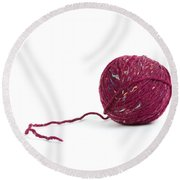 Yarn Round Beach Towel