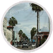 Ybor City Round Beach Towel