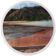 Yellowstone 27 Round Beach Towel