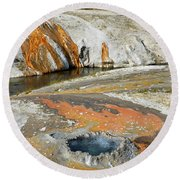 Yellowstone Small Crested Pool Round Beach Towel