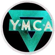 Ymca Round Beach Towel