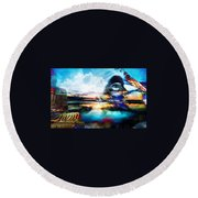 You Are The Buddha Round Beach Towel