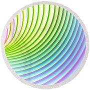 You Spin Me Round Round Beach Towel