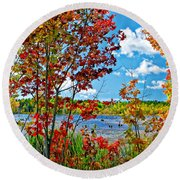 Young And Brash Round Beach Towel