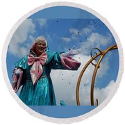 Your Fairy Godmother Round Beach Towel