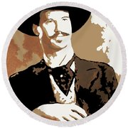 Your Huckleberry Round Beach Towel