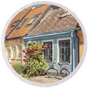 Ystad Cottages Round Beach Towel