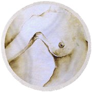 Yuki Round Beach Towel