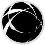 Zen Circles 4 Inverted Round Beach Towel