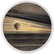 Zenith At Sunrise Round Beach Towel by Bill Cannon