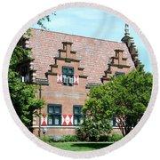 Zwaanendal Museum II - Henlopen  Round Beach Towel