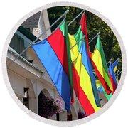Olcott Flags  7183 Round Beach Towel
