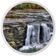 0017 Letchworth State Park Series  Round Beach Towel