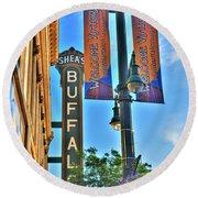 002 Sheas Buffalo Round Beach Towel