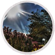 003 Summer Sunrise Series Round Beach Towel