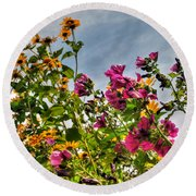 004 Summer Air Series Round Beach Towel