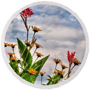 005 Summer Air Series Round Beach Towel