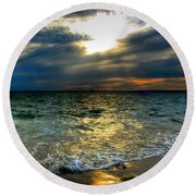 006 In Harmony With Nature Series Round Beach Towel