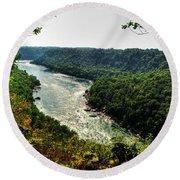 009 Niagara Gorge Trail Series  Round Beach Towel