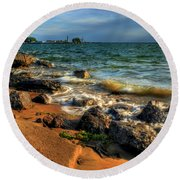 010 In Harmony With Nature Series Round Beach Towel