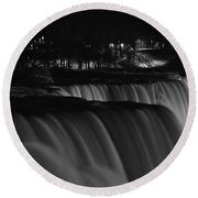 012 Niagara Falls Usa Series Round Beach Towel
