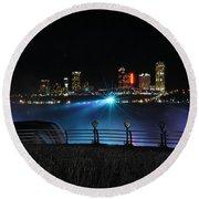013 Niagara Falls Usa Series Round Beach Towel