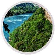 014 Niagara Gorge Trail Series  Round Beach Towel