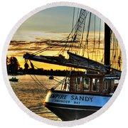 016 Empire Sandy Series Round Beach Towel
