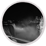 03 Niagara Falls Usa Series Round Beach Towel