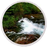 04 Three Sisters Island Round Beach Towel