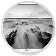 Welsh Coast Round Beach Towel
