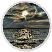 007 In Harmony With Nature Series Round Beach Towel