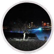 014 Niagara Falls Usa Series Round Beach Towel