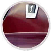 1964 Studebaker Avanti Emblem Round Beach Towel