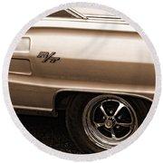 1967 Dodge Coronet Rt Round Beach Towel