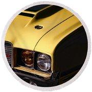 1972 Oldsmobile Cutlass 442 Round Beach Towel