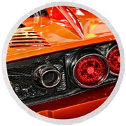 2012 Falcon Motor Sports F7 Series 1  Round Beach Towel
