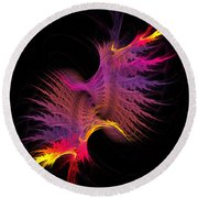 Abstract 148 Round Beach Towel