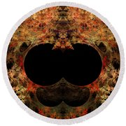 Abstract 173 Round Beach Towel
