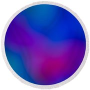 Abstract Focus Art Round Beach Towel
