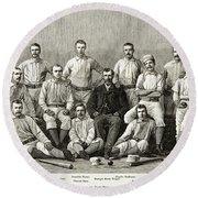 Baseball: Providence, 1882 Round Beach Towel