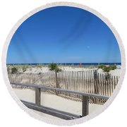 Beaches Round Beach Towel